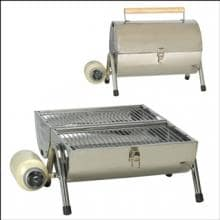 Stansport 235-100 Portable Stainless Steel Barbeque Grill