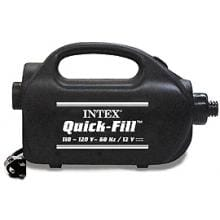 Intex Quick Fill Electric Pump, 120 Volt AC / 12 Volt DC