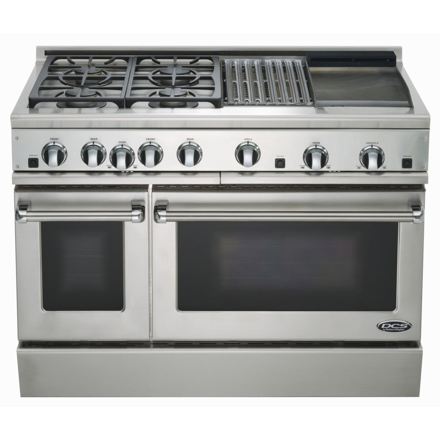Dcs Ranges 48 Inch Natural Gas Range With Grill Amp Griddle