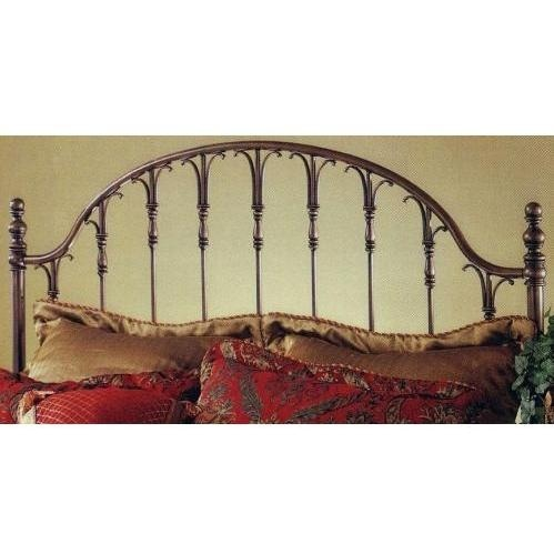 Hillsdale Tyler Antique Bronze Metal Post Headboard With Frame - Full/Queen - 1239HFQR