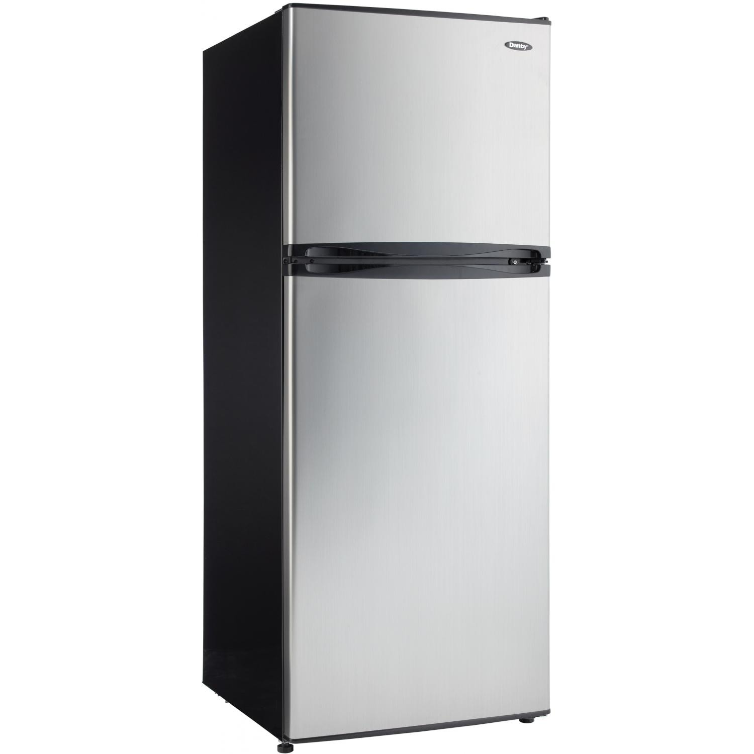 Danby 10.0 Cu. Ft. Refrigerator - Stainless Steel - DFF10...