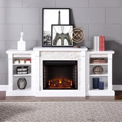 Excellent Electric Fireplace Mantel Kits Bbqguys Download Free Architecture Designs Scobabritishbridgeorg