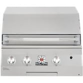 Solaire 27 Inch Deluxe Built-In All Infrared Propane Gas Grill With Rotisserie - SOL-AGBQ-27GIRXL-LP