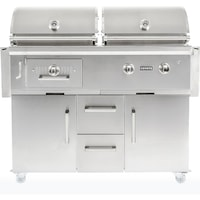 Coyote Gas & Charcoal Combo Grills