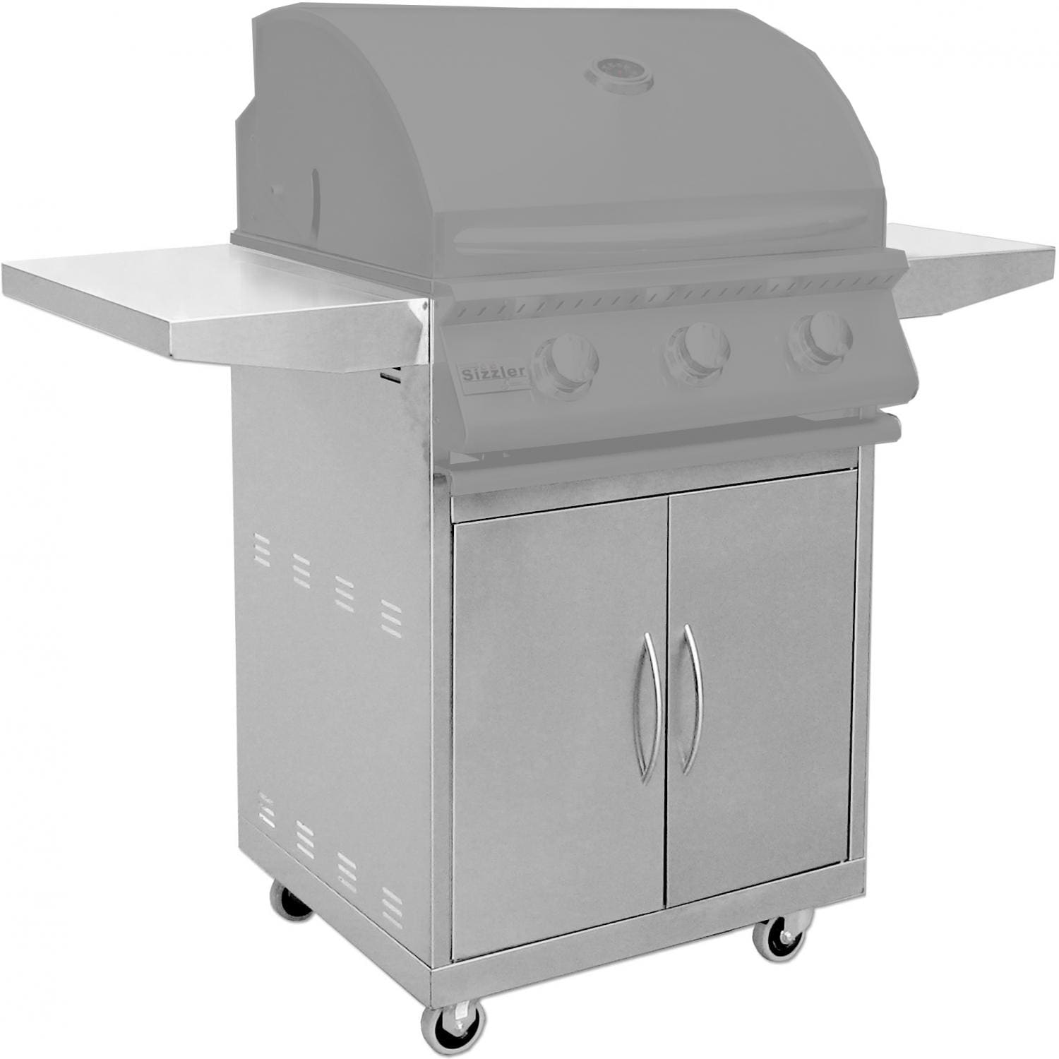 Summerset 26-Inch Gas Grill Cart For Sizzler Gas Grills - CART-SIZ26