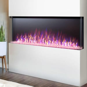 Napoleon Trivista 50-Inch 3-Sided Built-In Electric Fireplace - NEFB50H-3SV image