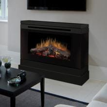 Dimplex Slater 45-Inch Electric Fireplace - Black - DCF44B