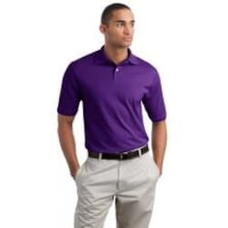 Jerzees SpotShield 5.6-Ounce Jersey Knit Polo Shirt 2XL - Deep Purple image