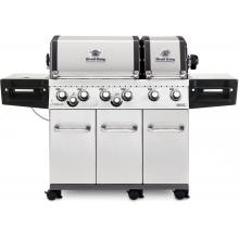 Broil King Regal XLS Pro 6-Burner Freestanding Propane Gas Grill With Rotisserie & Side Burner - Stainless Steel image