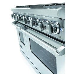 Viking Professional 7 Series 48-Inch 6-Burner Propane Gas Range With ...