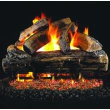 Peterson Real Fyre 18-Inch Split Oak Gas Log Set With Vented G4 Burner