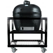 Primo Ceramic Smoker Grill On Cart - Oval XL