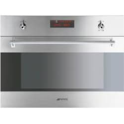 Smeg Classic 24-Inch Built-In Speed Oven With 1000-Watt Microwave - Stainless Steel - SU45MCX image