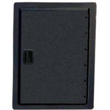 Fire Magic Legacy 17-Inch Black Single Access Door - Vertical - 23924