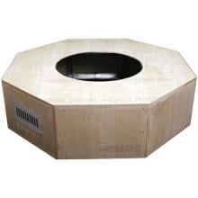 HPC 54-Inch Octagonal Unfinished Fire Pit Enclosure image