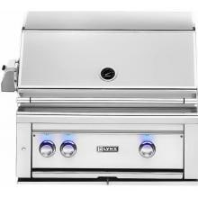 Lynx Professional 30-Inch Built-In Propane Gas Grill With One Infrared ProSear Burner And Rotisserie - L30PSR-2-LP Lynx 30-Inch Built In Gas Grill With Trident ProSear Burner And Rotisserie