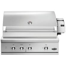 DCS Series 9 Evolution 36-Inch Built-In Natural Gas Grill With Rotisserie - BE1-36RC-N image