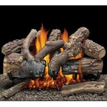 Natural Charred Oak Countryside Elements Vented Set