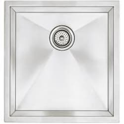 Blanco Precision Large 19 X 18 18-Gauge Single Bowl Stainless Steel Undermount Sink - 516209 image