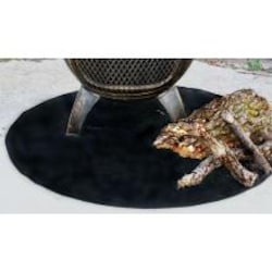 The Blue Rooster 36 X 36 Round Fire Resistant Deck Pad image