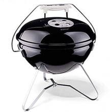Weber Smokey Joe Gold Portable Charcoal Kettle Grill - Black