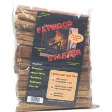 Dagan Industries Fatwood Fire Starter In Poly Bag - 25 Lbs image