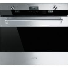 Smeg Classic 30-Inch Built-in Single Electric Multifunction Wall Oven - Stainless Steel - SOU330X1 image