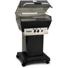 Broilmaster P3-XFN Premium Natural Gas Grill On Black Cart Broilmaster P3-XF Premium Gas Grill On Black Cart