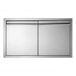 Twin Eagles 30-Inch Stainless Steel Double Access Door with Soft-Close - TEAD30-C image