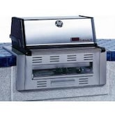 MHP TJK2 Built-In Natural Gas Grill With Stainless Grids
