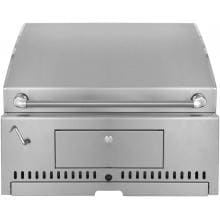 30 Inch Stainless Steel Built-In Charcoal Grill with Adjustable Charcoal Tray