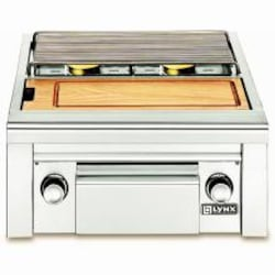 Lynx Professional Built-In Natural Gas Double Side Burner with Prep Center - LSB2PC-1-NG image