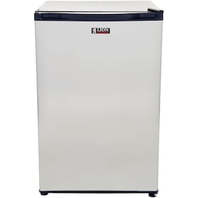 Lion 20-Inch Compact Refrigerator - 4.5 Cu. Ft. Stainless Steel
