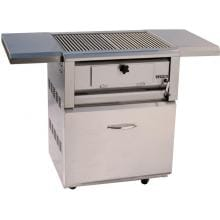 Luxor 30-Inch Open Top Freestanding Charcoal Grill - AHT-30-CHAR-F-OT