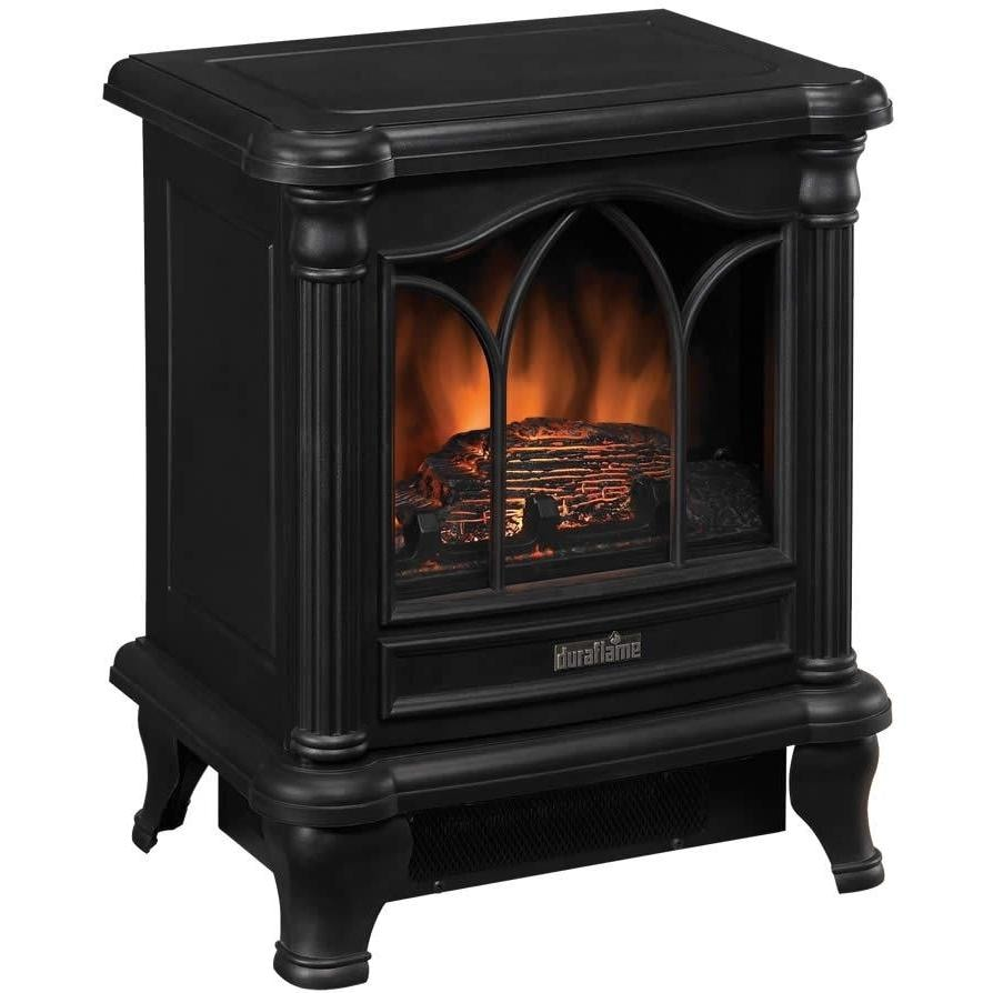 Duraflame 16 Inch Electric Stove Heater Black Dfs 450