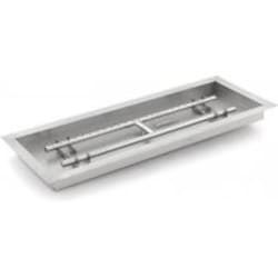 Lakeview Outdoor Designs 30-Inch Rectangular Drop-In Pan With Natural Gas H-Burner image