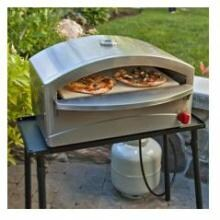 Camp Chef Italia Artisan Portable Propane Gas Pizza Oven Camp Chef Italia Artisan Portable Pizza Oven - Shown On Stand (Not Included)