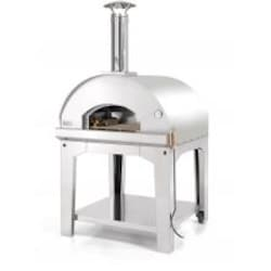 Fontana Forni Forno Toscano Marinara 39-Inch Outdoor Wood-Fired Pizza Oven - Stainless image