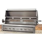 Luxor LED Series 54-Inch Built-In Propane Gas Grill With Rotisserie - AHT-54RCV-L-BI-LP