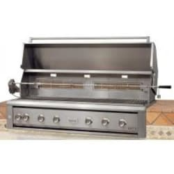 Luxor LED Series 54-Inch Built-In Natural Gas Grill W/ One Infrared Burner & Rotisserie - AHT-54RCV-L-BI-NG image
