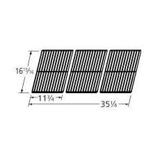 Porcelain Coated Cast Iron Rectangle Cooking Grid 60663