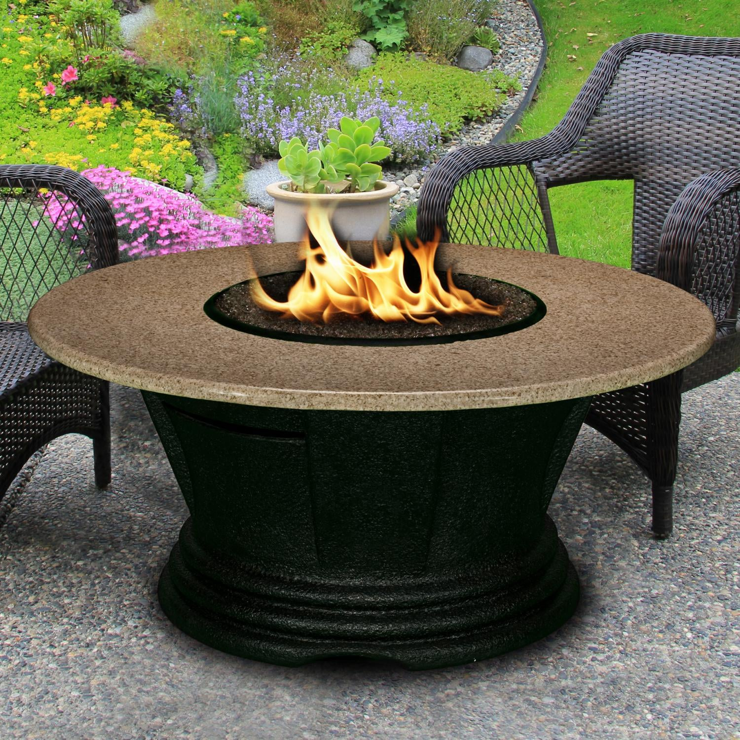 San Simeon 48 Inch Propane Fire Pit Table By California Outdoor Concepts