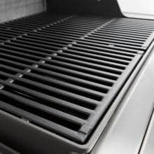 Weber Genesis II E-410 Freestanding Propane Gas Grill - Smoke Weber Genesis II E-410 Freestanding Propane Gas Grill - Porcelain-Enameled Cast Iron Cooking Grates