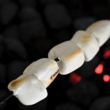 23-Inch Marshmallow Non-Stick BBQ Skewers - Set Of 4 Charcoal Companion 23-Inch Marshmallow BBQ Skewers - Set Of 4