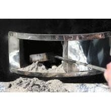 Grill Dome Stainless Steel Ash Tool Grill Dome Ash Tool Cleaning Bottom Chamber