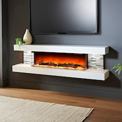 Evolution Fires Vegas 72 Inch Wall Mount Electric