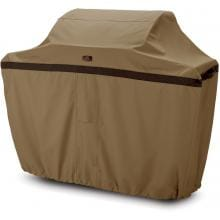 Large Hickory Freestanding BBQ Grill Cover - 64 W X 24 D X 48 H Classic Accessories Hickory Cart BBQ Cover