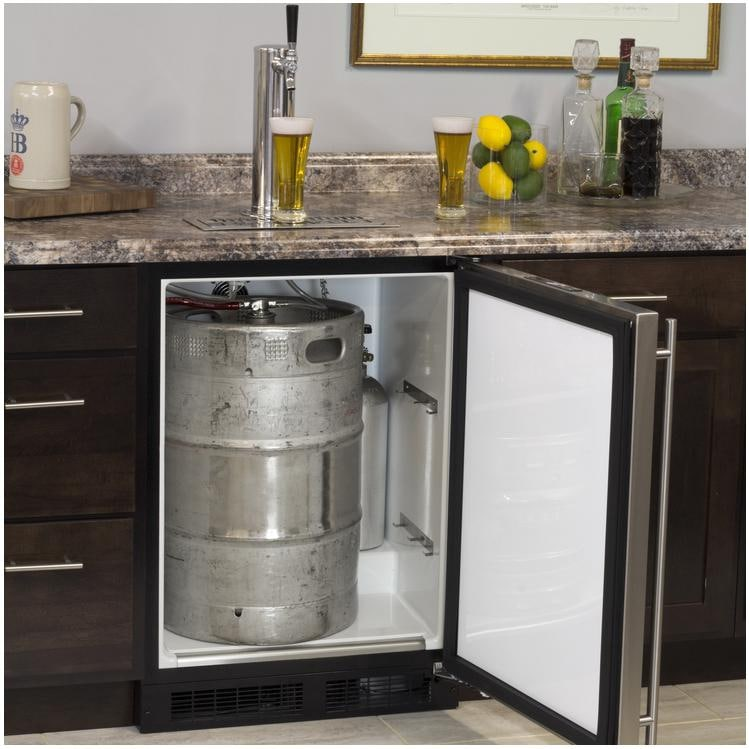 Nice Marvel 24 Inch Right Hinge Single Tap Beer Dispenser Kegerator Stainless  Steel Ml24bss2rs Perschoice Com