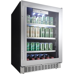 Danby Silhouette Professional 5.6 Cu. Ft. Beverage Center - Stainless Steel - DBC0…