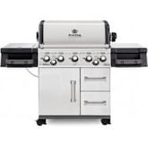 Broil King Imperial 590 5-Burner Freestanding Propane Gas Grill With Rotisserie & Side Burner - Stainless Steel